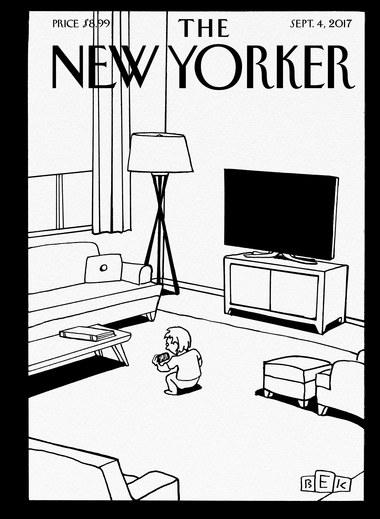 """""""Screen Time"""", de Bruce Eric Kaplan."""